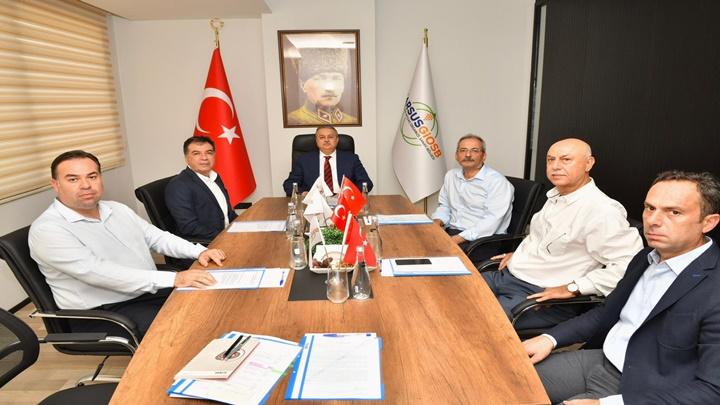 Tarsus Gıda İhtisas Organize Sanayi Bölgesi Temmuz Ayı Yönetim Kurulu ve Müteşebbis Heyet Toplantısı Gerçekleşti