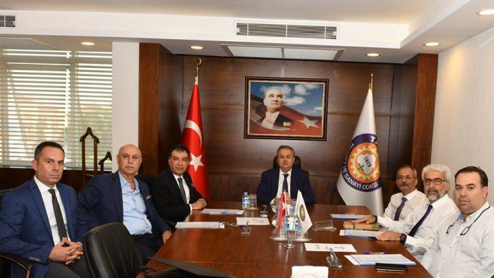 Tarsus OSB Ekim ayı Müteşebbis heyet toplantısı yapıldı