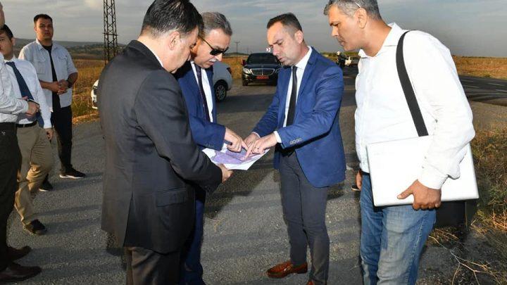 Vali Ali İhsan Su, Tarsus OSB arazisinde incelemelerde bulundu