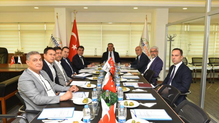 Tarsus Organize Sanayi Bölgesi Kasım Ayı Yönetim Kurulu ve Müteşebbis Heyet Toplantısı Gerçekleştirildi.