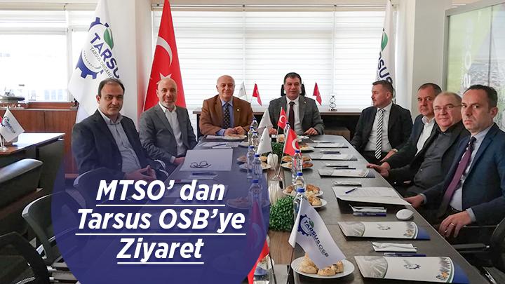 MTSO' dan Tarsus OSB'ye Ziyaret