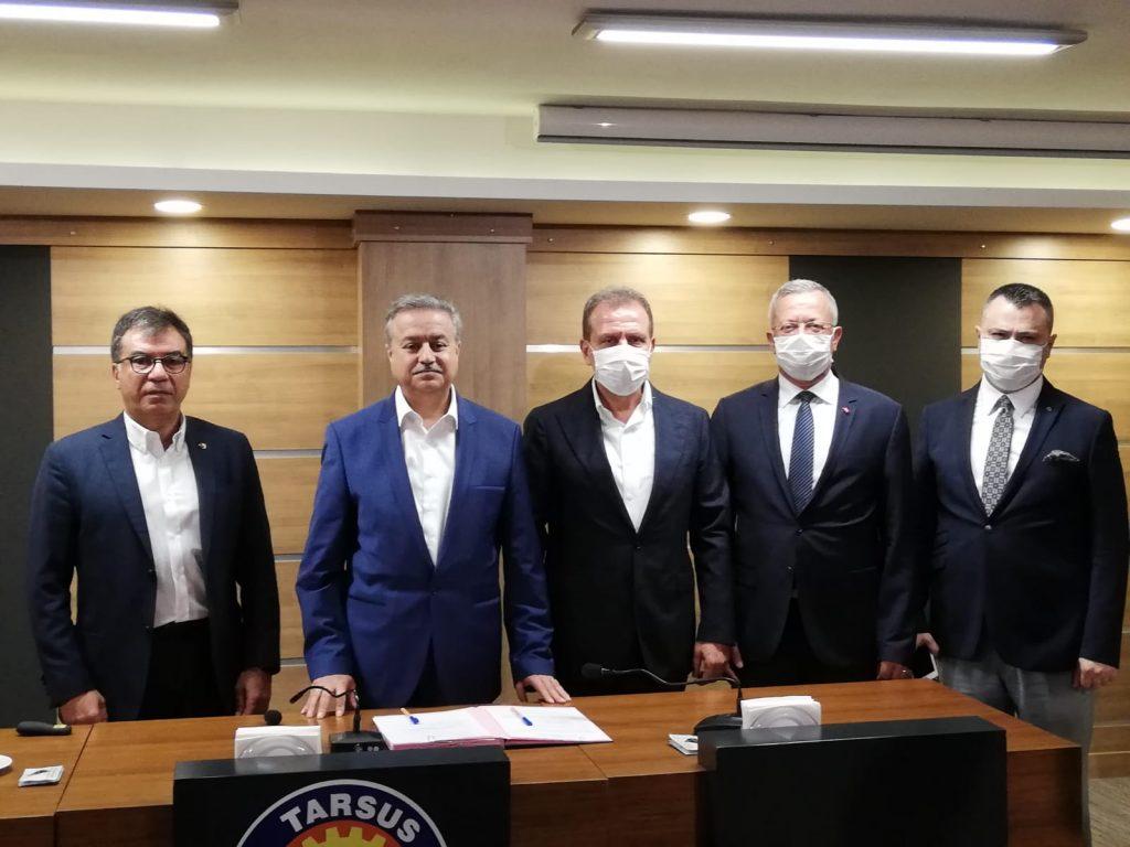 Tarsus OSB ve MTOSB arasında kardeş OSB protokolü imzalandı