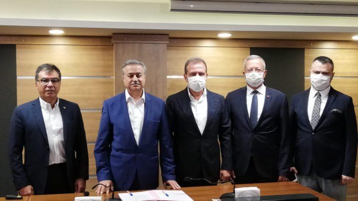 Tarsus OSB ve MTOSB arasında ''Kardeş OSB'' Protokolü imzalandı