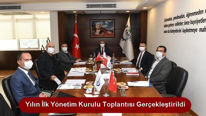 TARSUS OSB YÖNETİM KURULU TOPLANTISI GERÇEKLEŞTİRİLDİ
