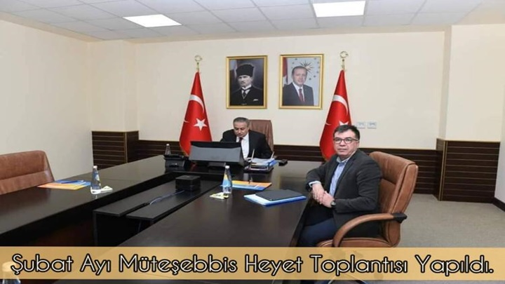 Tarsus Organize Sanayi Bölgesi Şubat Ayı Müteşebbis Heyet toplantısı Mersin Valisi Ali İhsan Su Başkanlığında Yapıldı.
